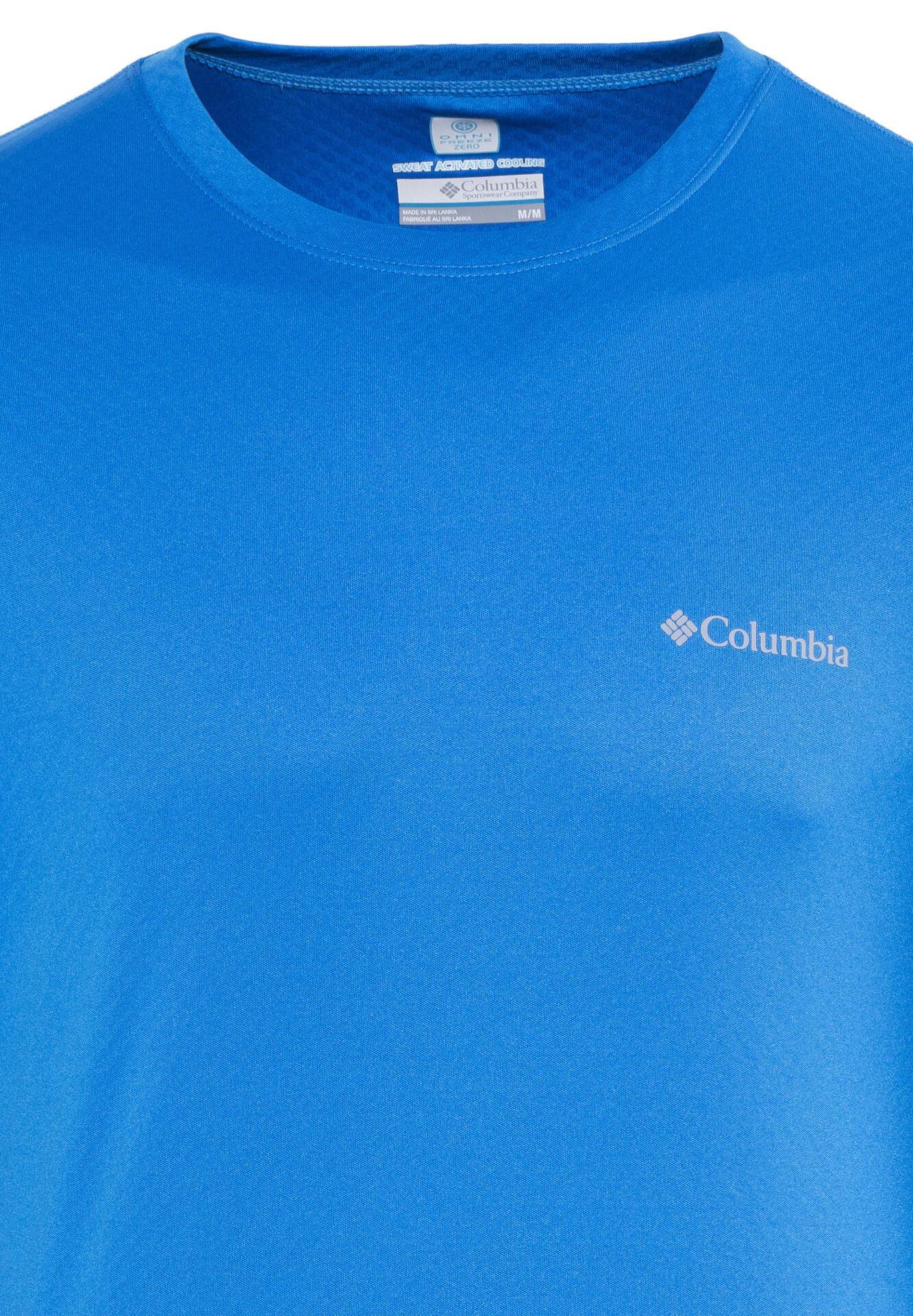 Columbia Zero Rules T shirt à manches longues Homme, hyper blue